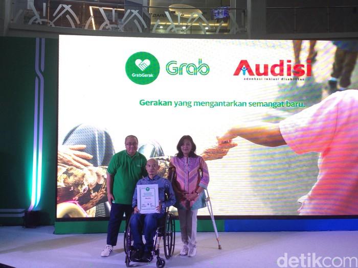 Suasana peluncuran GrabGerak. Foto: Agus Tri Haryanto/inet