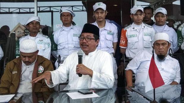 Amarah dan Tinju Prabowo di Depan Ulama PA 212