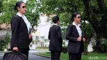Bangganya Jokowis Angels Bisa Kawal Presiden di Apel TNI-Polri