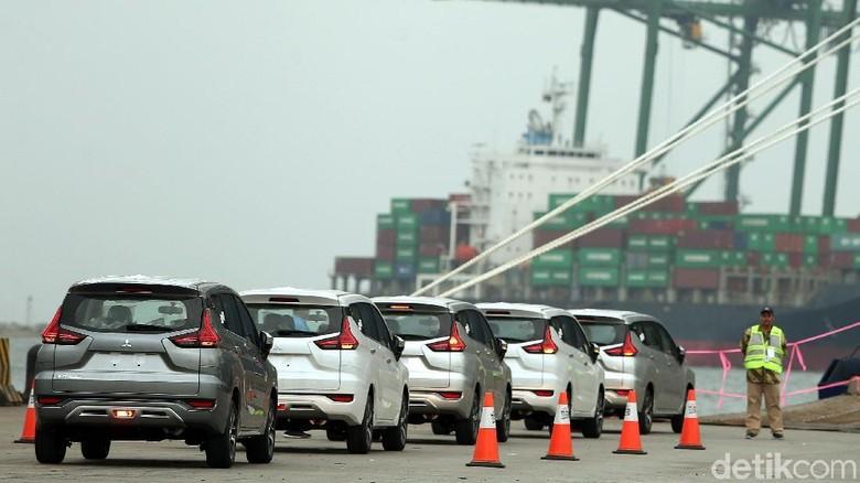 Mitsubishi Xpander juga mulai diekspor ke negara tetangga. Foto: Rengga Sancaya
