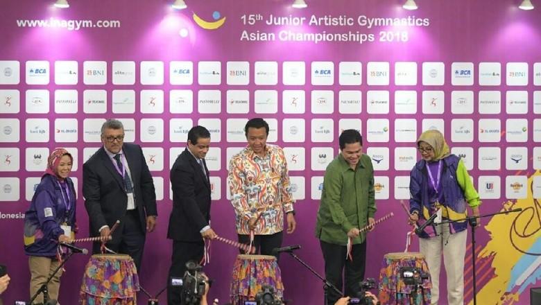 Buka Kejuaraan Asia Senam Artistik Junior 2018, Ini Harapan Menpora