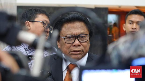 Ketua Umum Partai Hanura sekaligus Ketua DPD Oesman Sapta Odang.