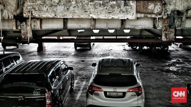 Ilustrasi tempat parkir.