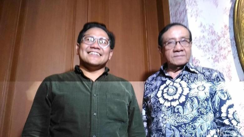 Cak Imin Minta Nasihat Hadapi Pilpres 2019 ke Akbar Tandjung