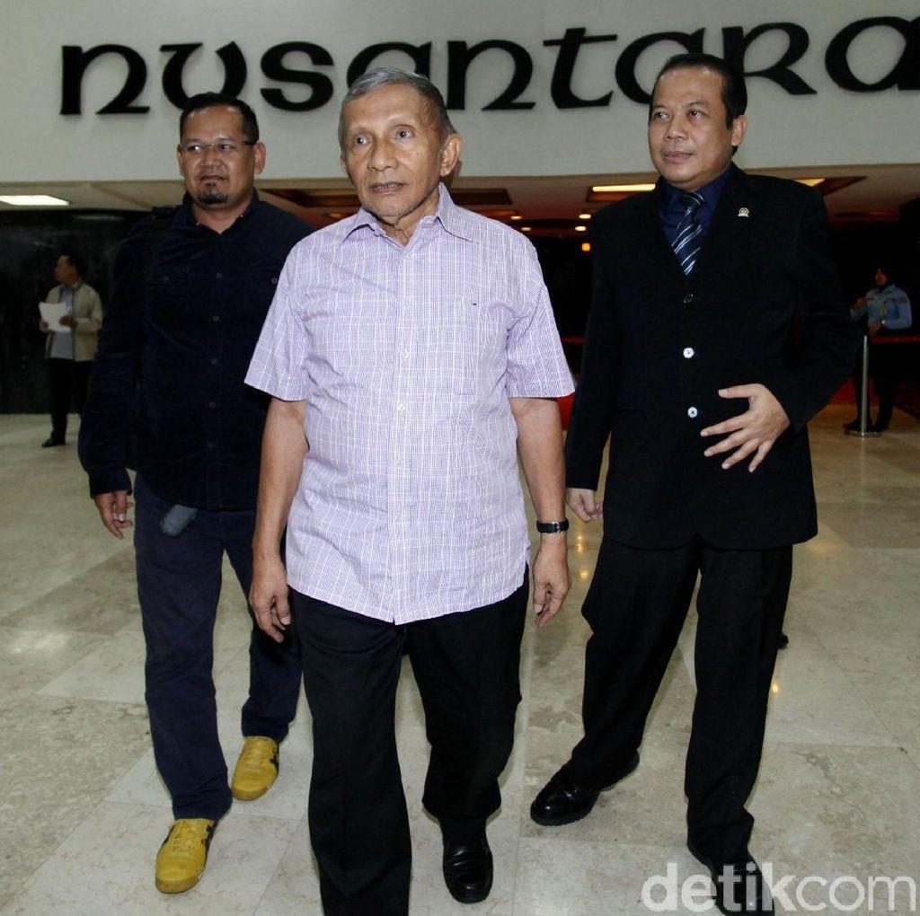 Didorong Jadi Seperti Mahathir, Amien Rais: Jangan Bayangkan Itu
