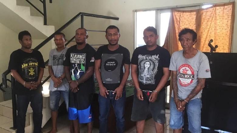 Kampung Ambon Kembali Digerebek, 6 Orang Ditangkap