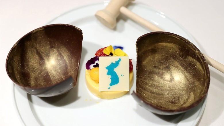 Hidangan Penutup di KTT Korsel-Korut Diprotes Jepang