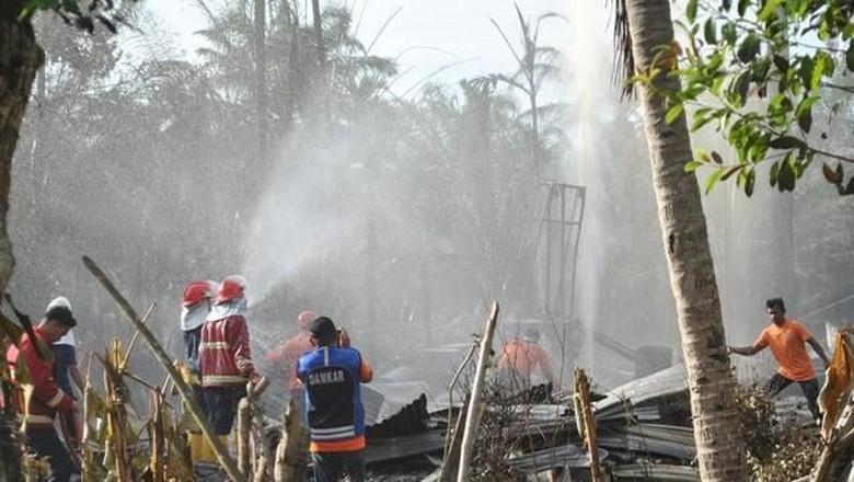 3 Korban Ledakan Sumur Minyak Dirujuk ke RSZA Banda Aceh