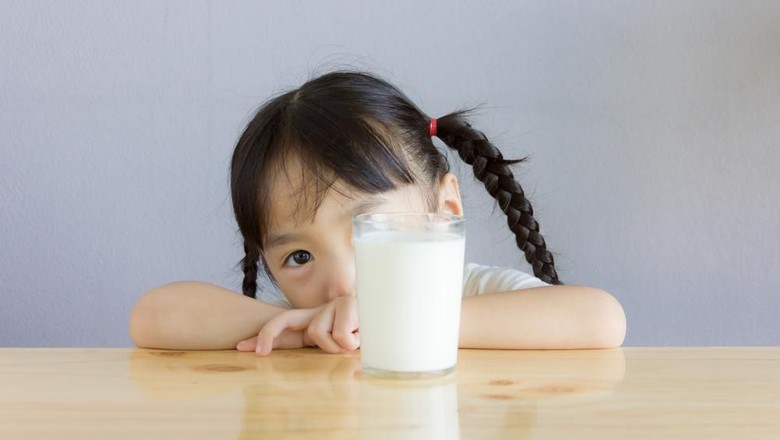 Bunda, Perhatikan Hal Ini Sebelum Beri Anak Susu UHT/Foto: Shutterstock