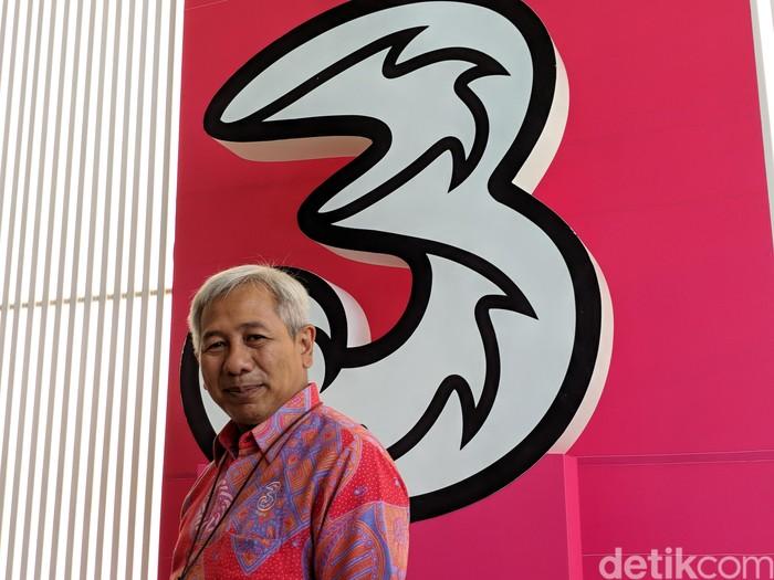 Wakil Presiden Direktur 3 Indonesia Danny Buldansyah. Foto: Adi Fida Rahman/detikINET