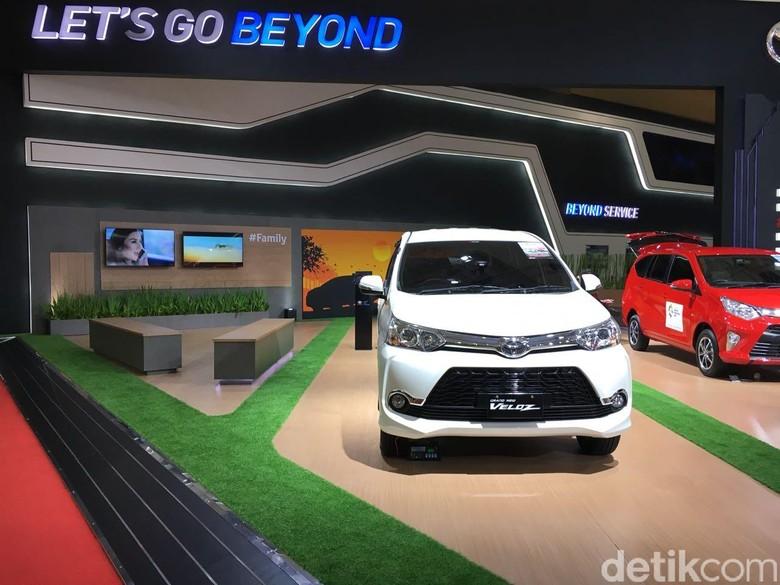 Produk-produk Toyota kemahalan? Foto: Dina Rayanti
