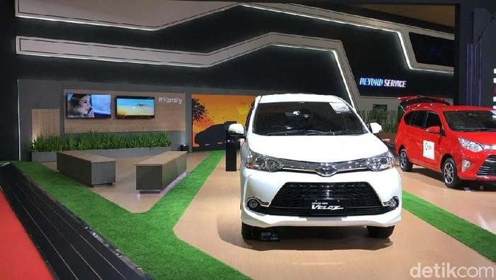Toyota Avanza Veloz di iims 2018