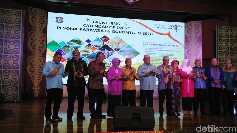 Peluncuran calender of event Gorontalo 2018 di Kemenpar (Wahyu/detikTravel)