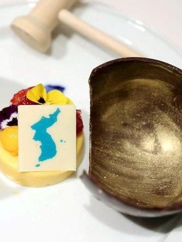 Sajikan Dessert Bergambar Pulau Sengketa di Korea Utara Summit, Jepang Marah