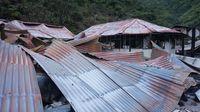 Rumah Sakit dan Sekolah Dasar yang Dibakar KKSB