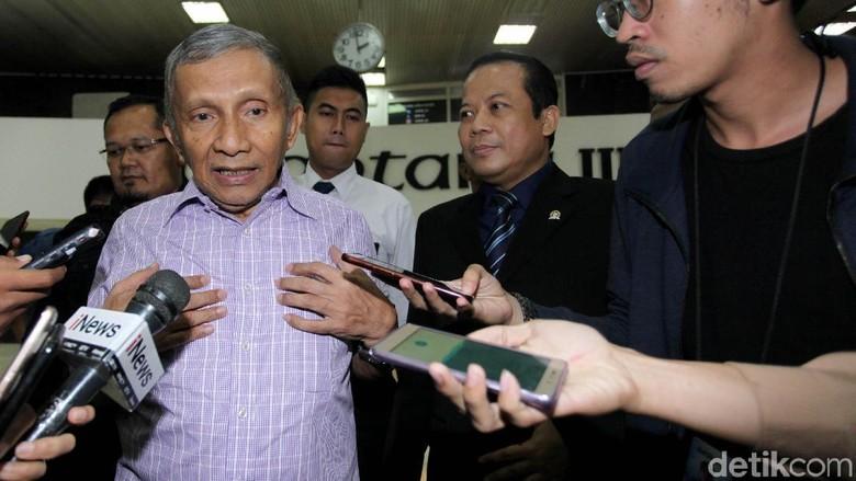 Amien Rais Pesan Seribu Kaos Insyaallah Ganti Presiden