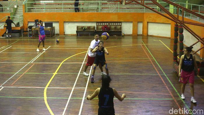 Timnas basket 3x3 berlatih di Jakarta. (Ari Saputra/detikSport)