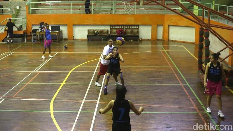 Timnas Basket 3x3 Asah Kemampuan di Piala Asia