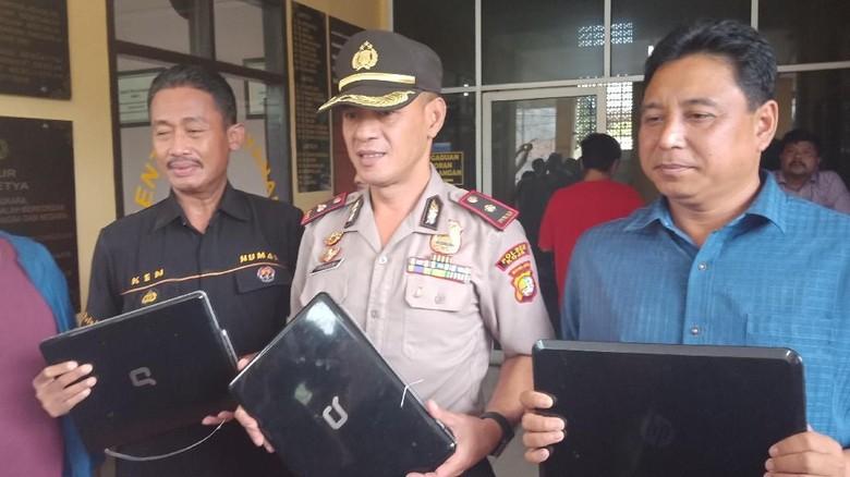 Pencuri 13 Unit Laptop di SMP Muhammadiyah 14 Koja Ditembak