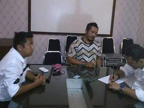 Rendra Hadi Kurniawan diperiksa polisi/