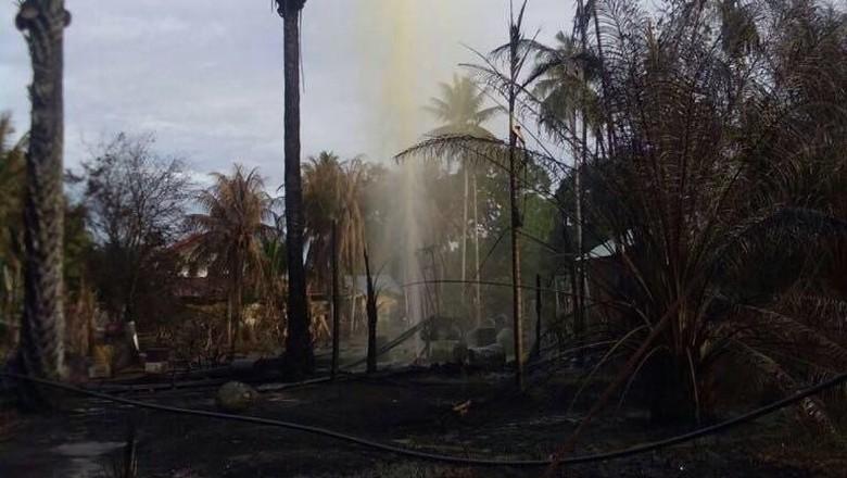 Mandi Minyak Ilegal Berujung Maut di Aceh