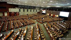 DPR Gelar Paripurna Bahas RAPBN 2019, 304 Wakil Rakyat Tak Hadir