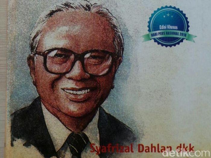 Buku Legacy Sang Legenda Kejujuran Rachmat Saleh/Foto: Selfie Miftahul/detikFinance