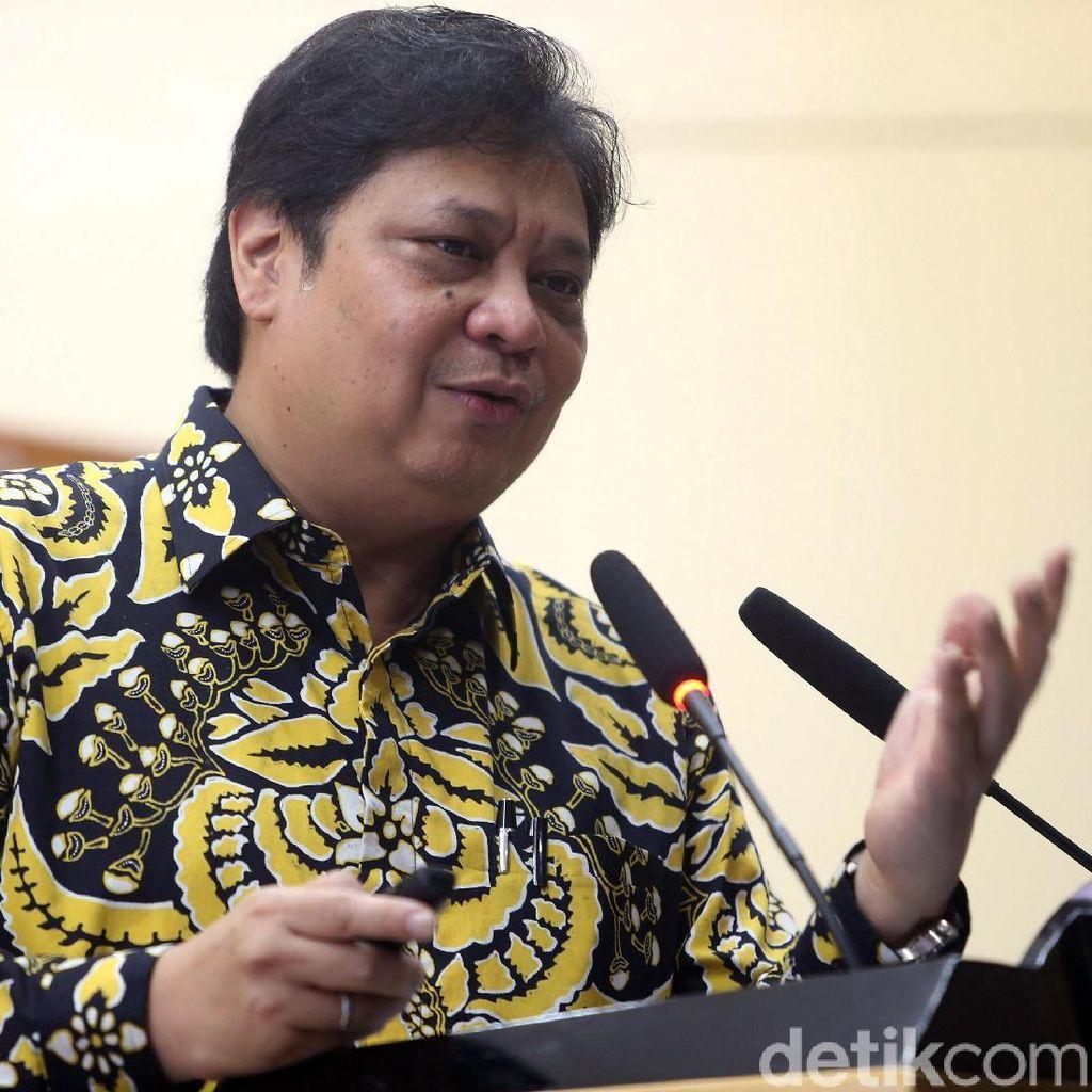 Airlangga: Semua Berpeluang Jadi Cawapres Jokowi