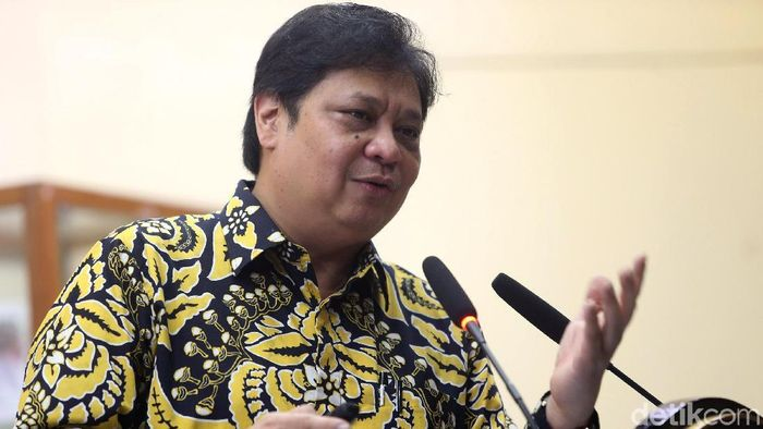 Menteri Perindustrian Airlangga Hartarto/Foto: Ari Saputra
