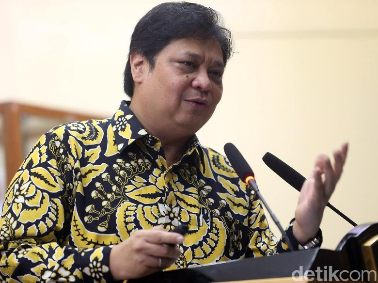 Airlangga: SBY Janjikan Opsi Gabung Koalisi Jokowi