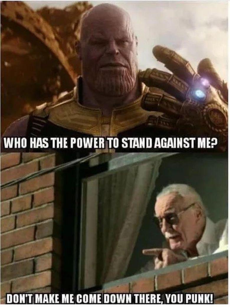Mungkin ini jawaban soal siapa yang mengalahkan Thanos.Dok. Ist
