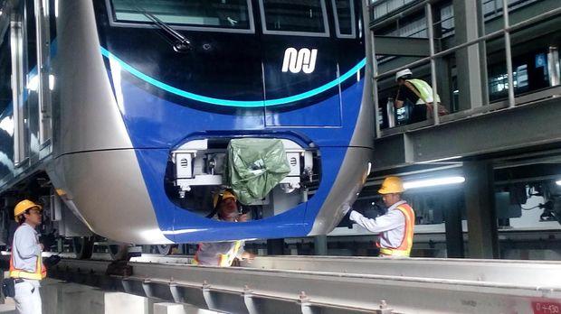 MRT Jakarta segera diuji coba