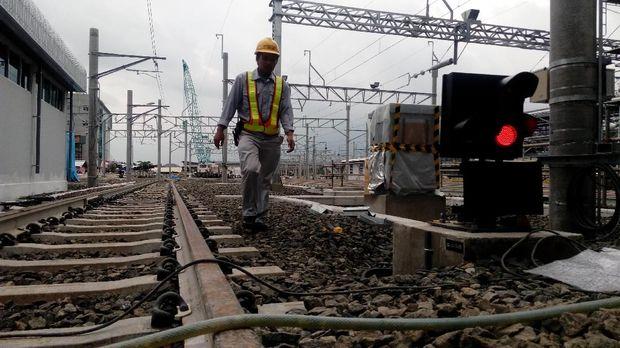 Depo MRT Jakarta di Lebak Bulus