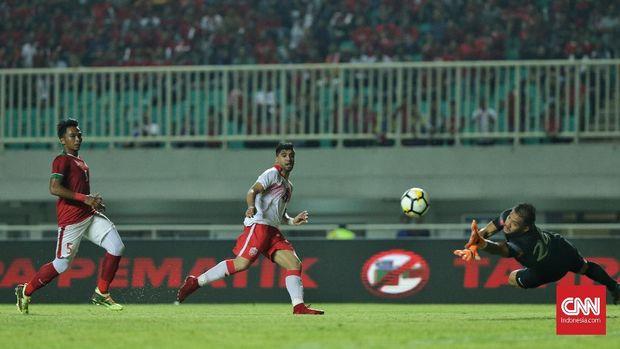 Bahrain mampu mencuri gol di awal laga saat lini belakang Timnas Indonesia masih lengah.