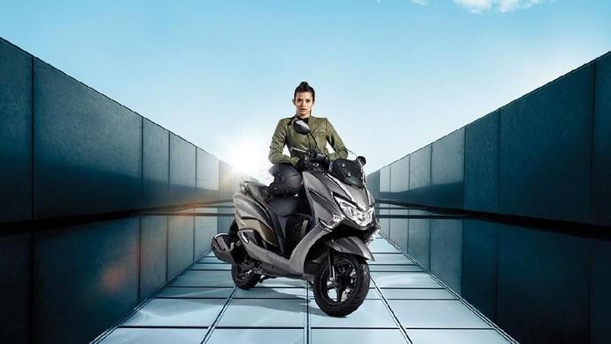 Ini Tampang Pesaing NMAX dan PCX dari Suzuki