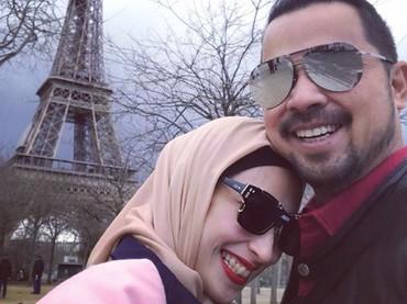 Pernikahan sudah berjalan 11 tahun, Anissa dan Sultan makin mesra ya? (Foto: Instagram @hapsarianissa29)