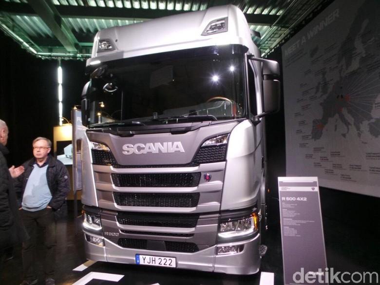 Ilustrasi Scania Foto: Idham Kholid