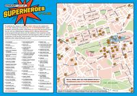 Daftar tenant dan promo di hari 'Edinburgh - City of Superheroes' (edinburgh.org)