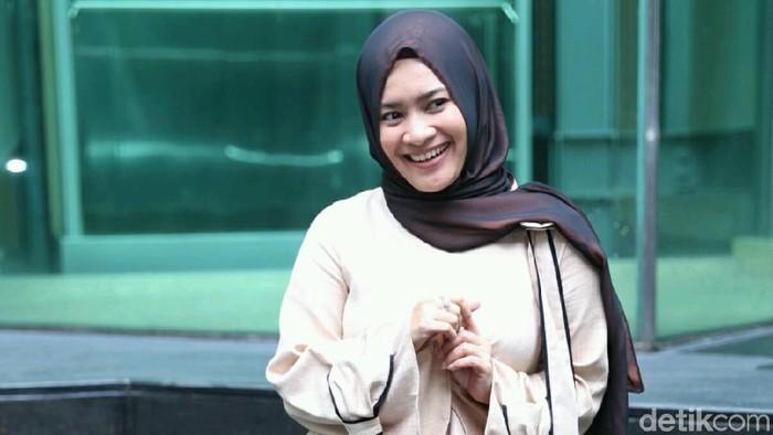 Ikke Nurjanah berharap tidak ikut-ikutan terjerat narkoba (Foto: Ismail/detikHOT)