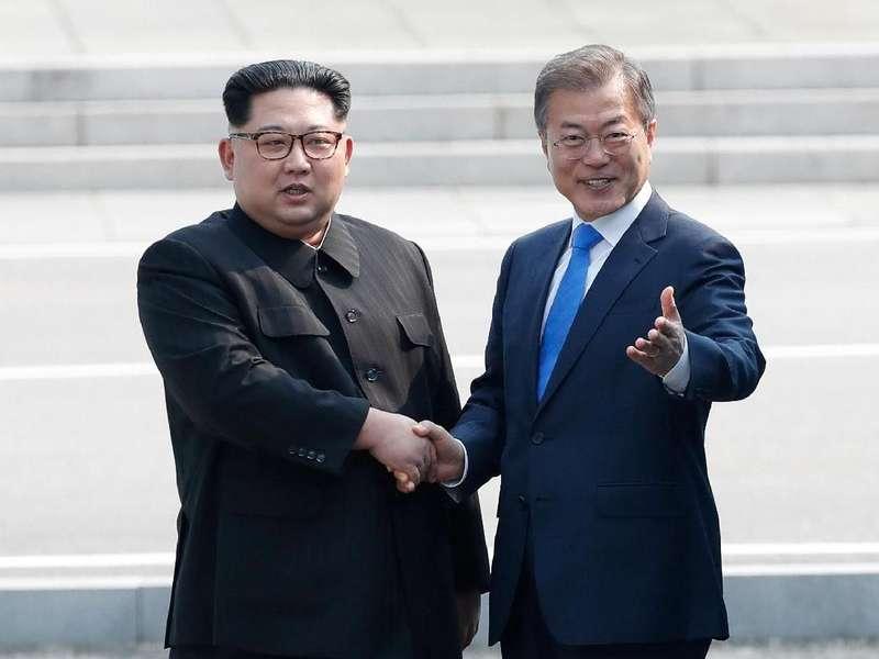 Presiden Korsel Sesalkan Batalnya Pertemuan Trump dan Kim Jong Un
