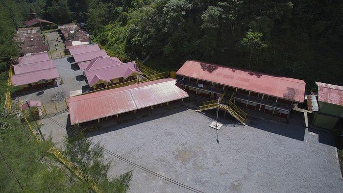 Dalam keadaan normal kalau ada situasi darurat ada layanan helikopter dari Freeport yang bantu, sekarang sulit karena situasi belum aman. Dok. PT Freeport Indonesia.