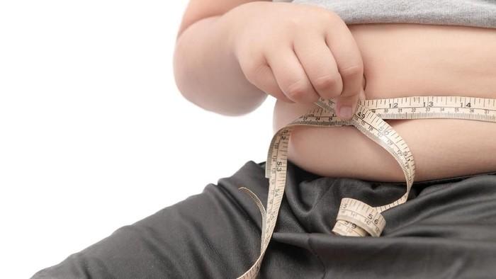 Ilustrasi anak gemuk. Foto: Thinkstock