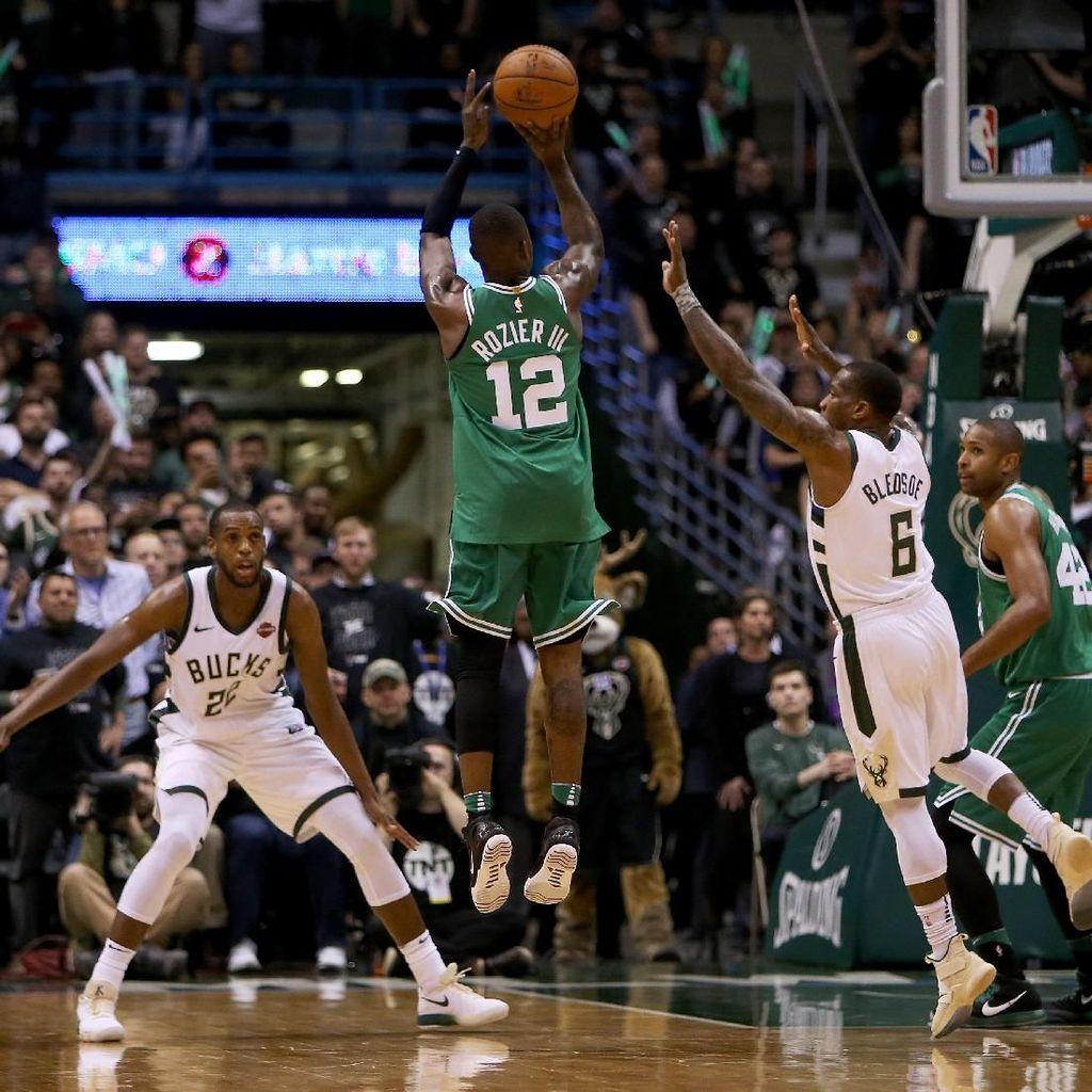 Kalahkan Celtics, Bucks Paksakan Gim Penentuan
