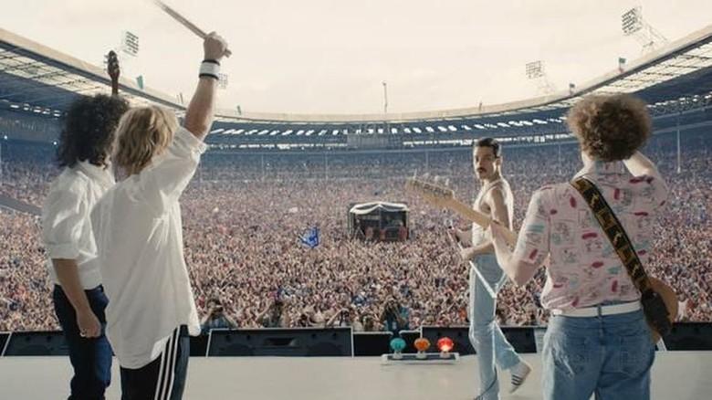 Penampilan Rami Malek sebagai Freddie Mercury di Bohemian Rhapsody