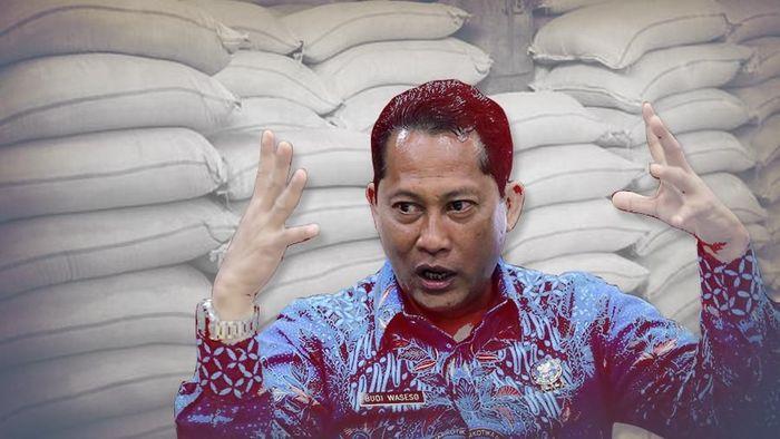 Dirut Bulog Budi Waseso/Foto: Luthfy Syahban/Infografis