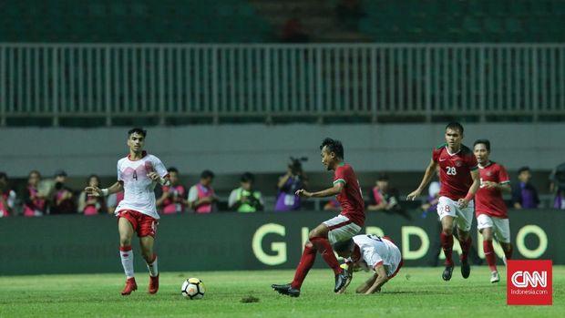 Timnas Indonesia mampu merepotkan Bahrain di laga ini.
