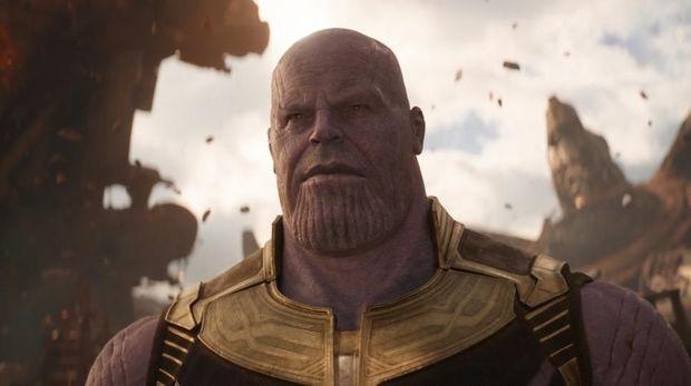 Thanos merupakan makhluk ungu dari Titan yang tingginya mencapai hampir dua meter dan beratnya hampir 450 kilogram.
