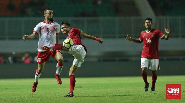 Timnas Indonesia sejatinya tampil dominan di laga lawan Bahrain.