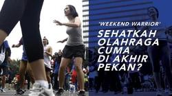 Kamu Pilih Olahraga Saat Weekday Atau Weekend, Wahai Karyawan?