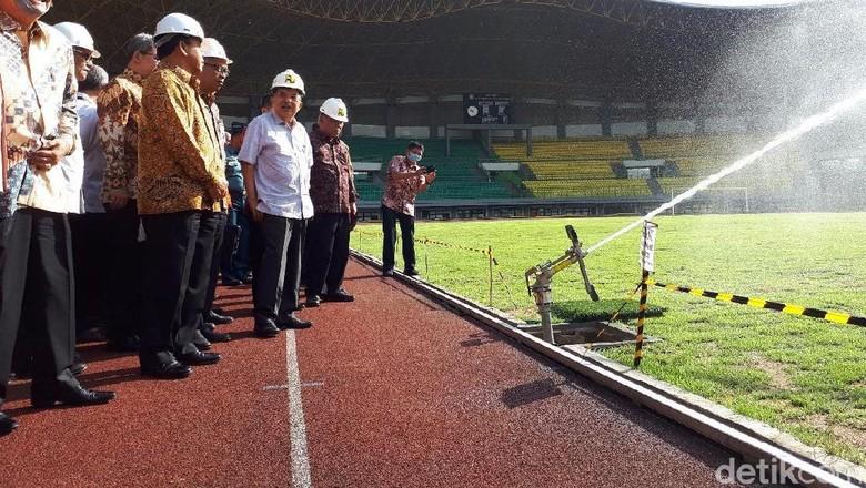 Wapres JK Tinjau Venue Asian Games di Bekasi